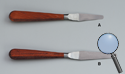 WOOD HANDLED SPATULAS