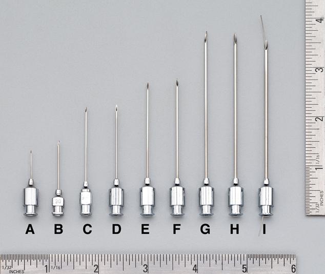 Gauge Hypodermic Needle: Price Finder - Calibex
